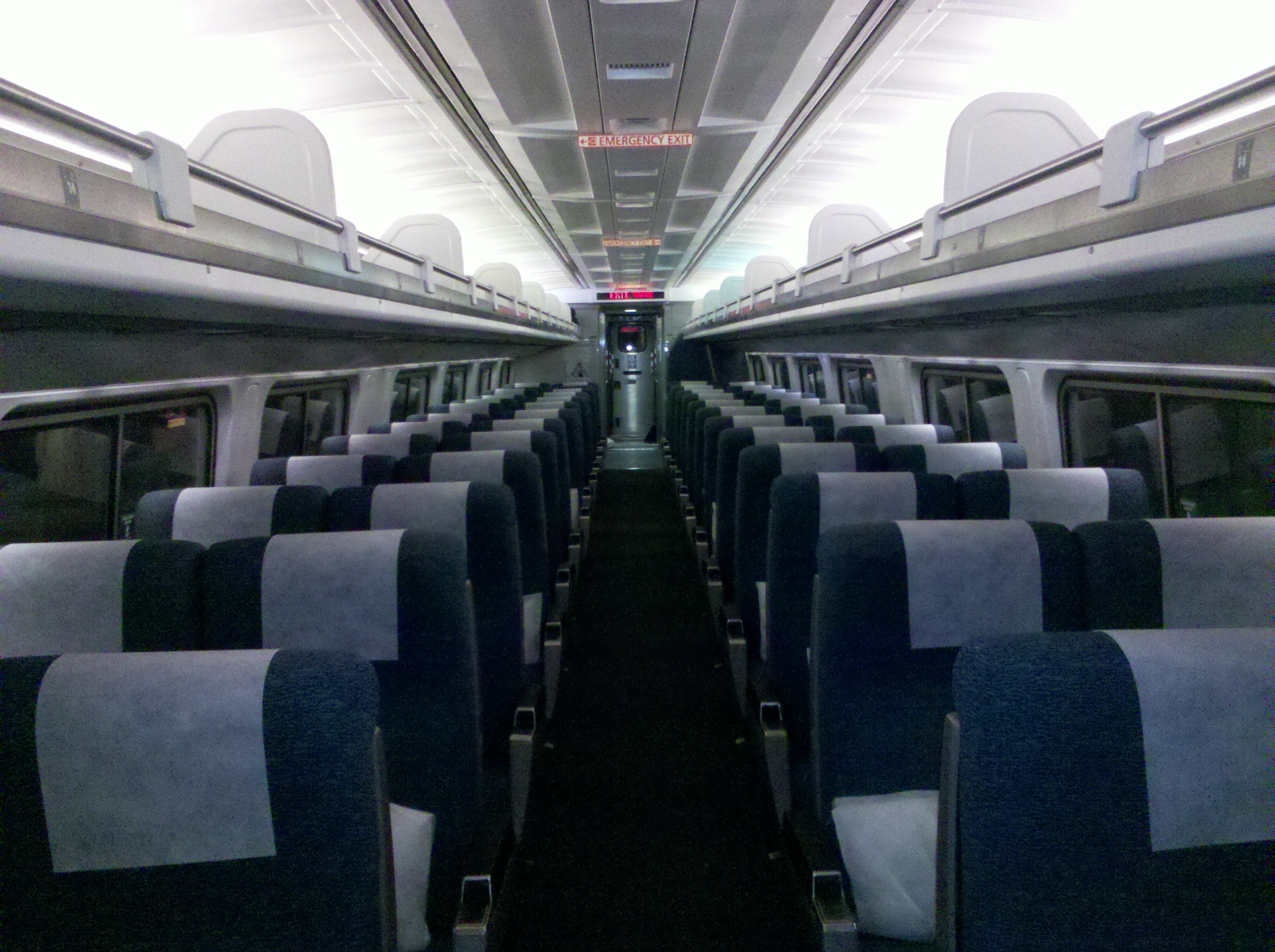 oversize coach seats viewliner amtrak train � marla sink